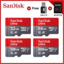 sandisk micro sd carta класс 10 TF карты 16 ГБ 32 ГБ 64 Гб 128 ГБ scheda di memoria per il telefono e da tavolo PC co