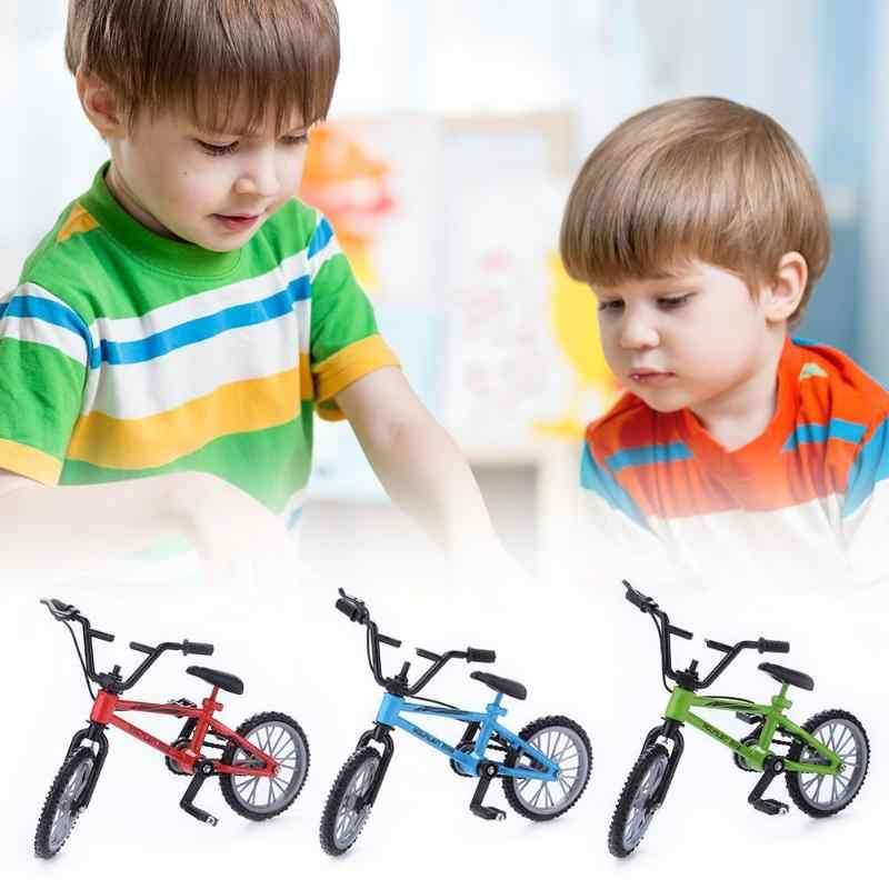 2019 Mini-finger Bike Set Fans Toy Alloy Finger  Functional Kids Bicycle Finger Bike Excellent Quality Toys Gift  road bicycle