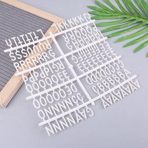 4 قطعة/المجموعة أحرف ل ورأى لوح أحرف أرقام للتغيير لوح أحرف