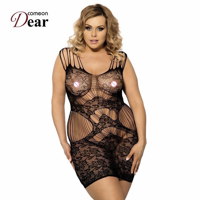 6d1c83bb781 HK3124 Exotic Apparel Plus Size Bodystocking Hollow Out Strap Lingerie  Dress Womens Body Suit Hot Sale Bodystocking Women