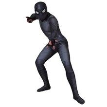 Костюм «Человек-паук» для взрослых и детей, костюм «Питер Паркер», костюм зентай для косплея супергероя-паука, комбинезон