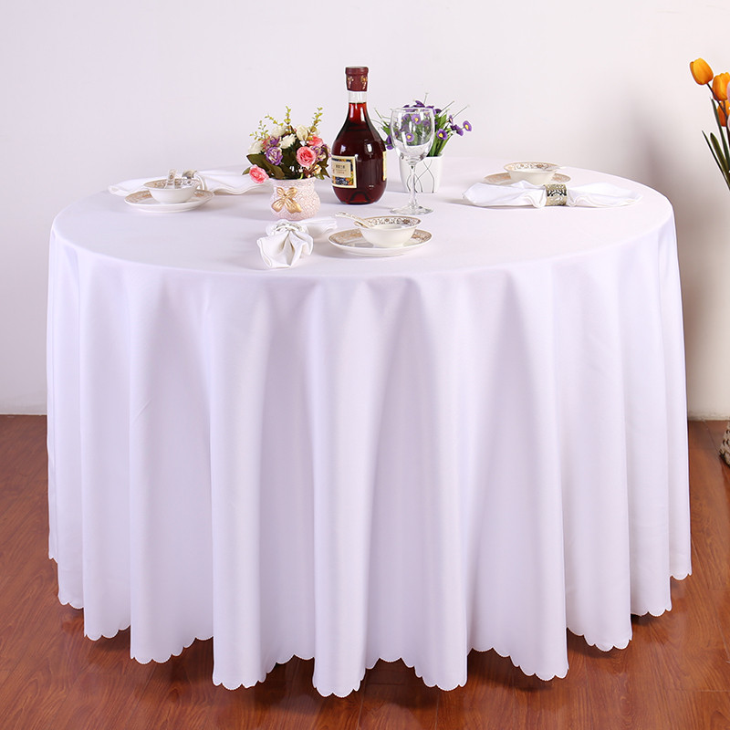 buy hao joy big size luxury round table clothing wedding tablecloth party table. Black Bedroom Furniture Sets. Home Design Ideas