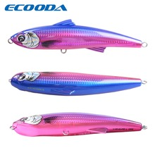 Ecooda Fishing Hard Bait Big Lure For kingfish /tuna 82g 180mm Minnow Floating Saltwater Crankbait Fishing Tackle Pescaria