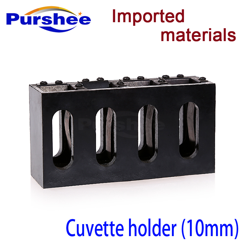 US $36 9 |10mm path length cuvette cell holder-in Test Tube from Office &  School Supplies on Aliexpress com | Alibaba Group