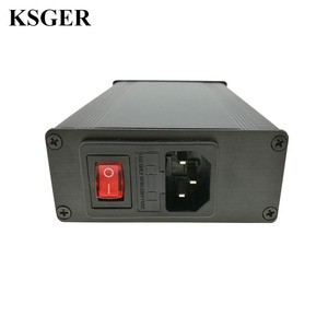 Image 4 - KSGER OLED Soldering Station T12 ILS Electronic Iron Tools STM32 2.1S Temperature Controller Handle Stand Holder 220V Welding