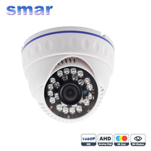 "1/2.7"" OV2710 FULL HD 1920*1080 AHD Camera 1080P AHDH 24 IR LED Night Vision Indoor Dome Surveillance Camera IR Cut Filter"