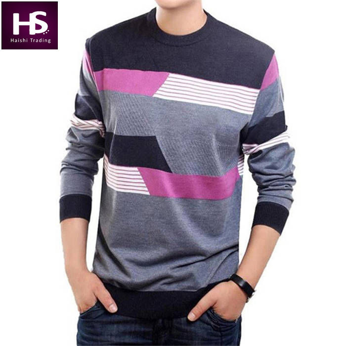 O Neck Sweater Men Clothing Mens Sweaters Knit Wool Cashmere ...
