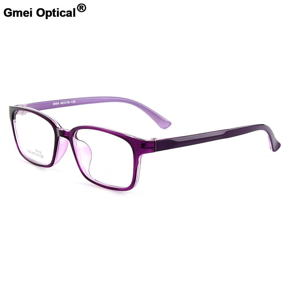 Gmei Optique Nouvelle de Femmes Rectangulaire Urltra-light TR90 Plein Jante Lunettes Optiques Cadres Hommes de Myopie Lunettes 5 couleurs M5054