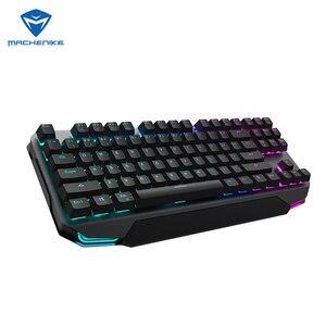 Machenike K7 87 keys Mechanical Keyboard Bluetooth 3.0 Wireless Dual Mode Mechanical Gaming Keyboard For PC Computer Gamer(China)
