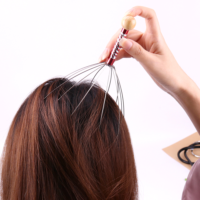 New Massager Body Massager Octopus Head Scalp Neck Equipment Stress Release Relax Massage Relief Head Care Massage