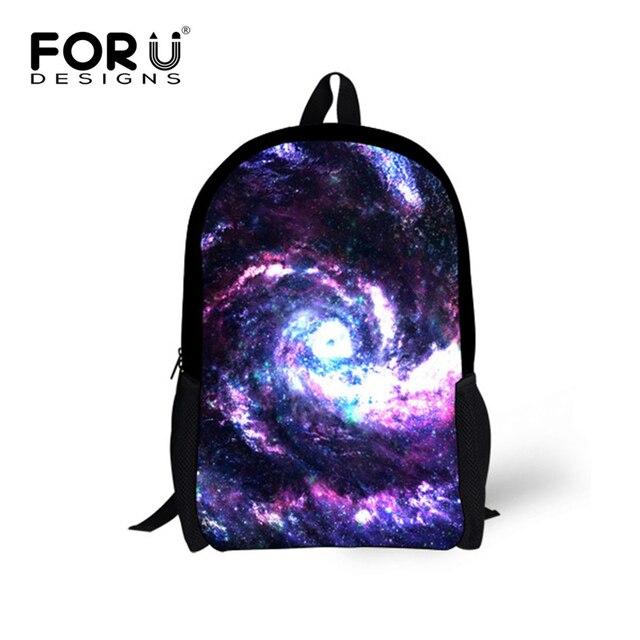 c423df093ec Nieuwe Stijlvolle Kinderen Galaxy Schooltassen voor Meisjes 3D Universe  Space Stars Afdrukken Rugzak Kids Mochila Jongens
