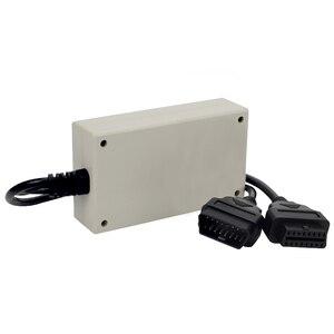 Image 5 - Caja de rotura OBD 2 para coche, Detector de protocolo OBDII OBD2, conector de diagnóstico, Detector profesional