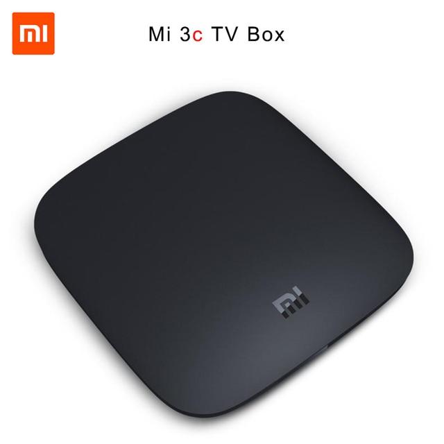 Xiao Mi Ми 3C Умные телевизоры Box Android 5.0 4 К HD 4 ядра wifi 1 г Оперативная память 4 г Встроенная память HDMI 2.0 Декодер каналов кабельного телевидения media player dolby dts
