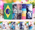 New 100% Special Cartoon Painting Case PU Leather Flip cover Case For Lexand S5A4 Argon, Lanyard Gift +Tracking number