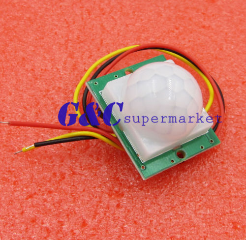 Electronic Components & Supplies Ambitious Dc 12v Pir Ir Infrared Pyroelectric Ir Pir Motion Sensor Detector Module Top Making Things Convenient For Customers Integrated Circuits