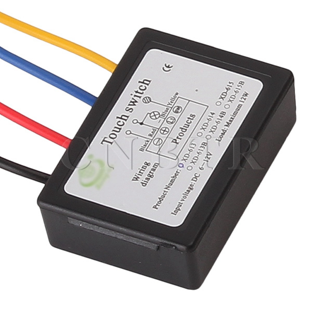 medium resolution of cnbtr xd 613 on off touch switch 6 12v dc for led lamp diy accessories in switches from lights lighting on aliexpress com alibaba group