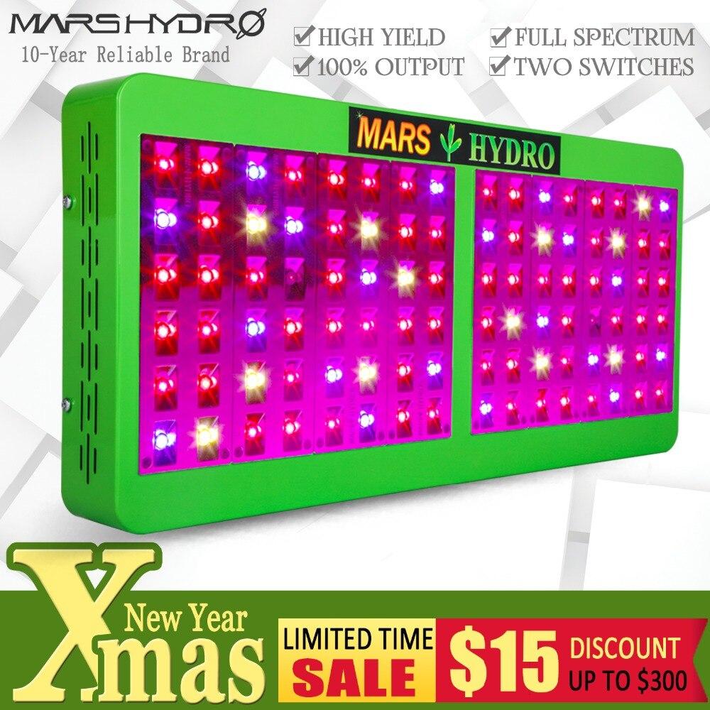 Mars Hydro Réflecteur 480 w LED Élèvent La Lumière Plein Spectre IR pour Plantes D'intérieur À Effet de Serre Hydroponique Intérieure L'ensemencement et La Floraison
