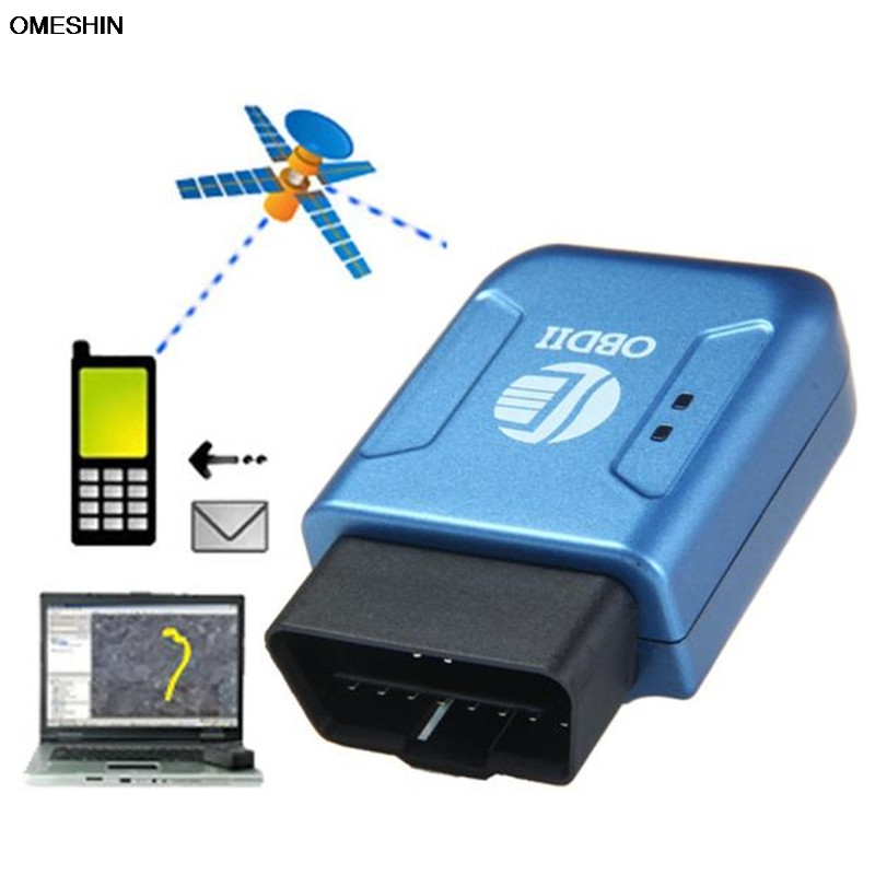 Wireless Car Gps Tracker Obd Obdii Gps Gprs Real Time Tracker Car Vehicle Tracking System Geo Fence Wg