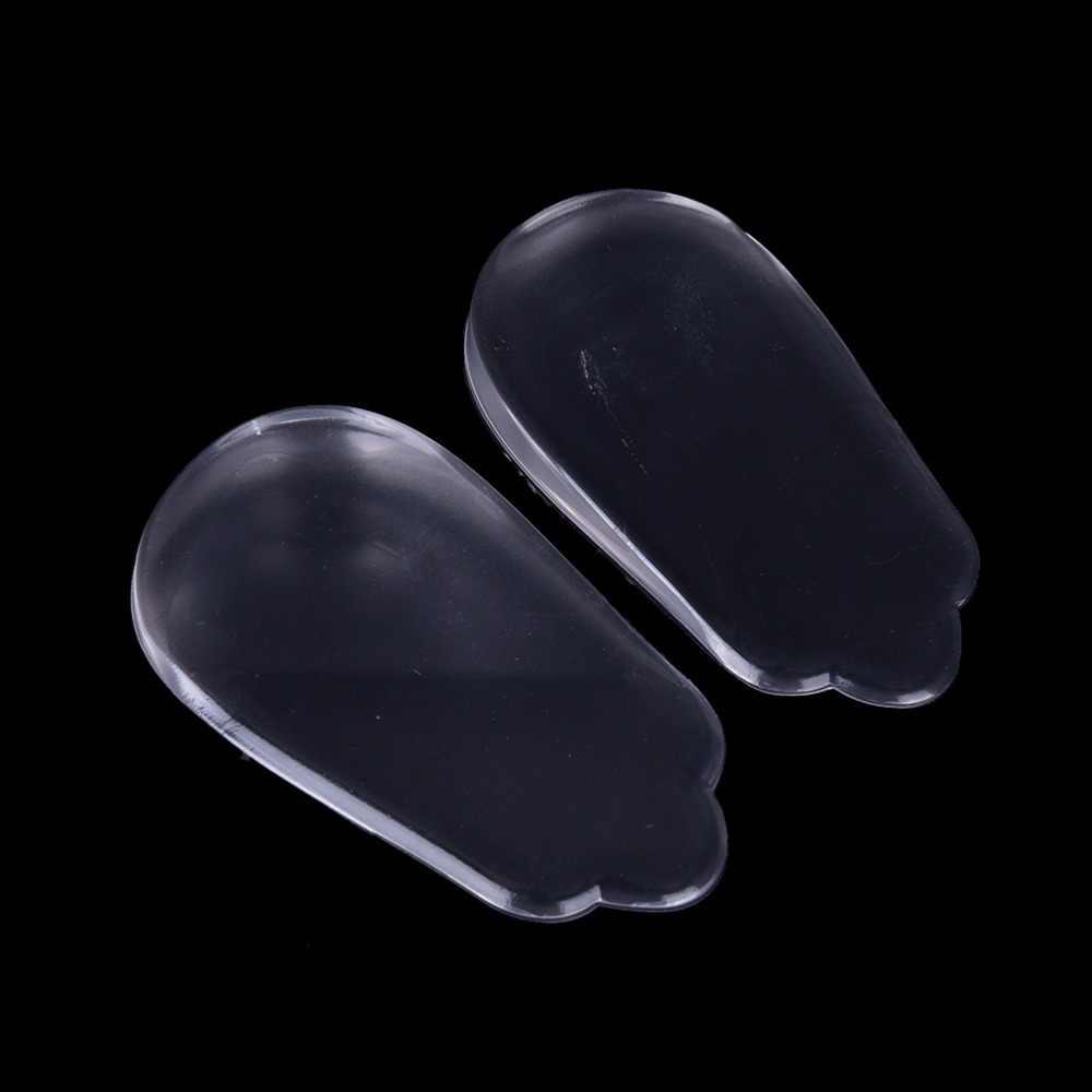 Solette in silicone plantari X/O-tipo gambe correttore gel cuscino per heel solette ortopediche scarpe tacco pad patch per i piedi cura