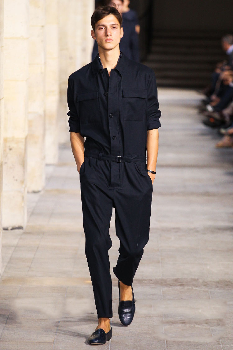 Spring/summer 2018 new men jumpsuits overalls conjoined pants men's cultivate one's morality Spring/summer Can be customized