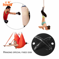 Multifunctional Suspension Strap Trainer X Mount Anchor Bracket Mount Hook Yoga Hammock Hook Turnbuckle Sandbags Fixed