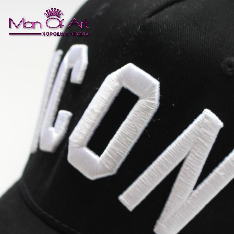 Baseball Caps DSQ Buchstaben hohe Qualität Hüte Männer und Frauen - Bekleidungszubehör - Foto 5