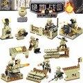 8 unids/lote Kid Bebé de Juguete Bloques Huecos de los Juguetes Modelo Jedi Batalla Mina Ladrillo Compatible Lepin SX2007