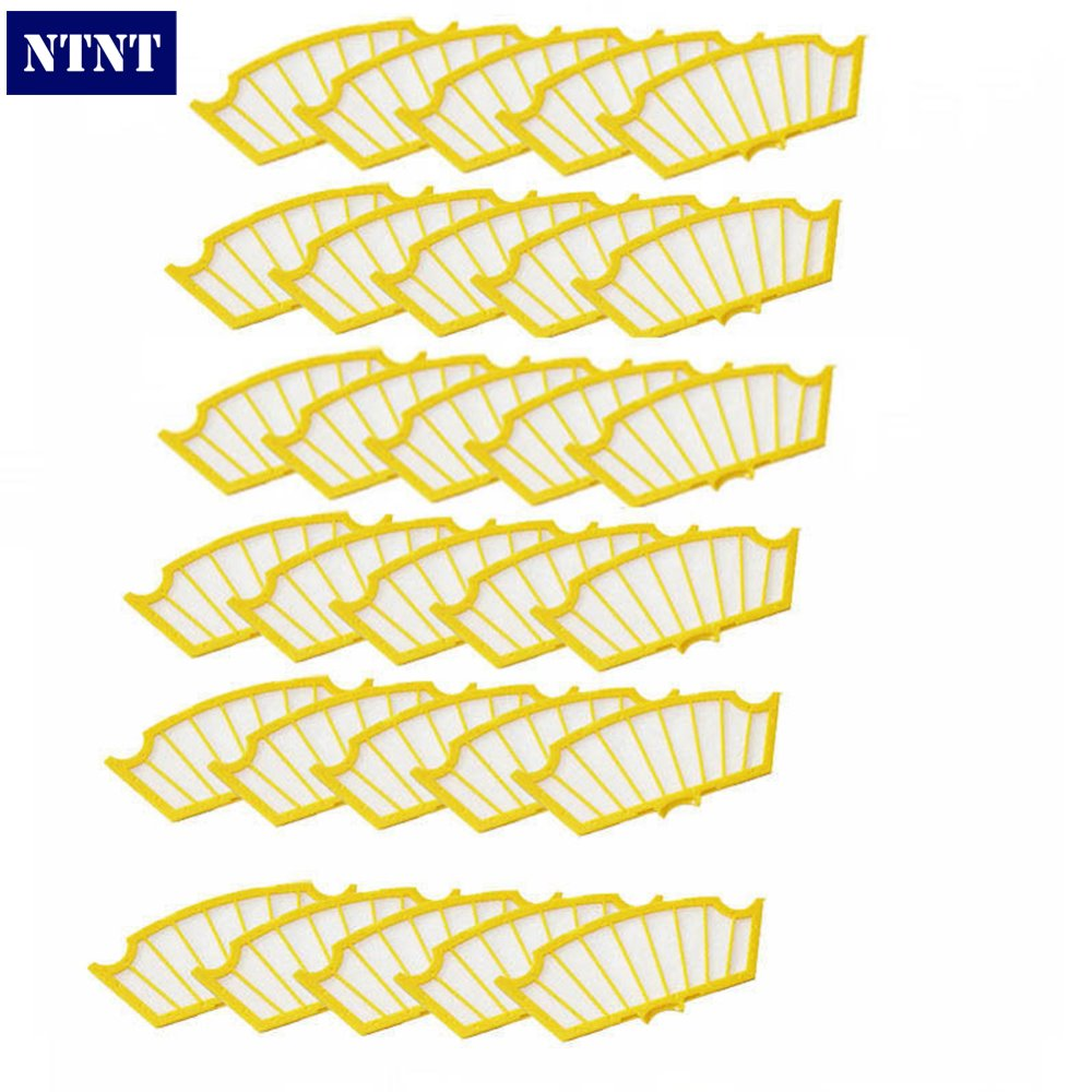 NTNT Free Post New 30 pack Filter filters for iRobot Roomba 500 Series 530 540 550 560 570 580 ntnt free post new side brush filters 6 armed for irobot roomba 500 series 550 540 555 560 570 580