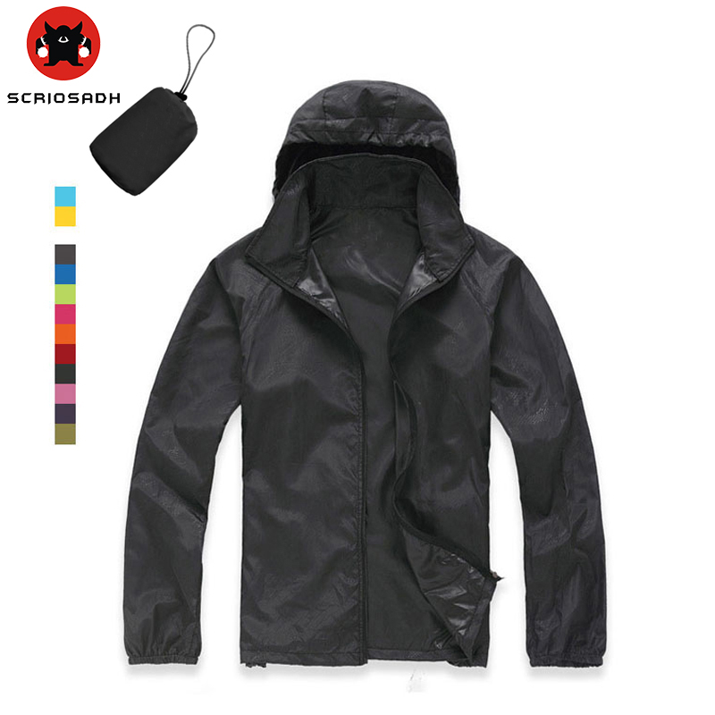 Outdoor Spring-Summer Camping&Hiking Jacket Waterproof Windproof Climbing Fishing Shirt Quick Dry Rain Coat Men Women Sportswea(China)