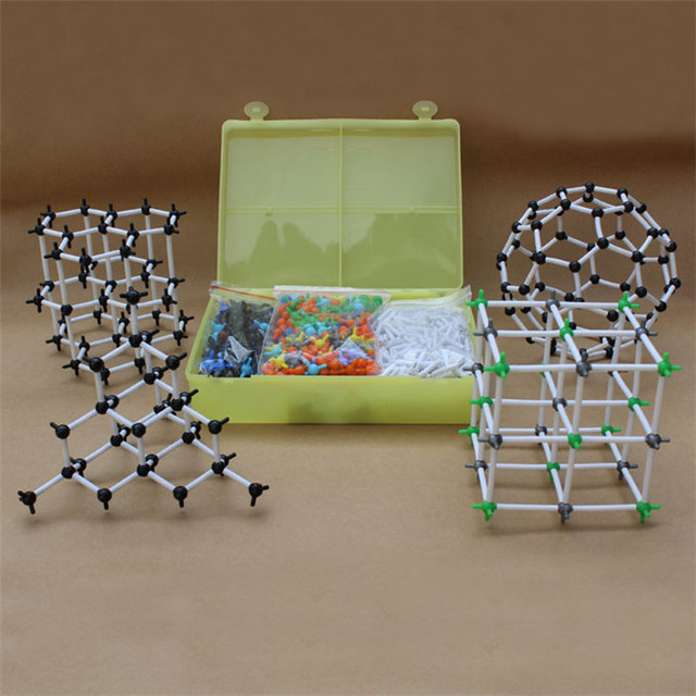 Fashion Organic Chemistry Scientific Atom Molecular Model Teach Class Kit Set Suzie