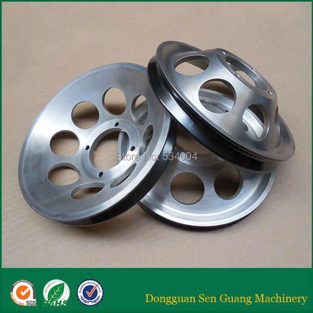 chrome oxide ceramic coating wire drawing pulley for wire cable ...