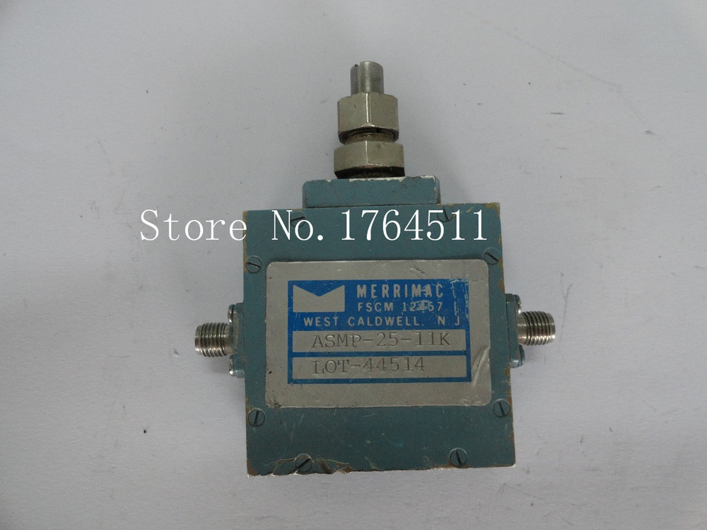 [BELLA] Adjustable Variable Attenuator MERRIMAC ASMP-25-11K 20dB 7-18GHz Extension