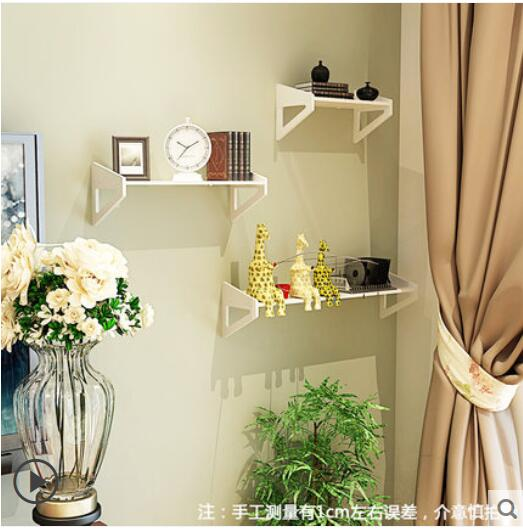 Online Shop Wall Shelf Free Punching Bedroom Decoration Simple ...