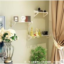 Wall Shelf Free Punching Bedroom Decoration Simple Flower Frame Wall  Hanging Living Room Bookcase TV Walls One Word Shelf Part 65