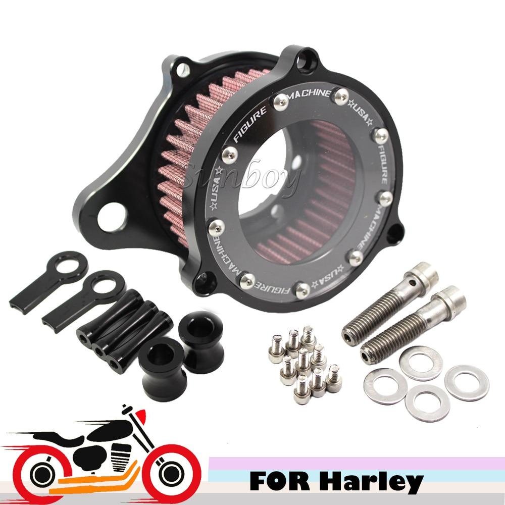 CNC Motorcycle Bike Luchtfiltersysteem voor Harley Davidson Sportster - Motoraccessoires en onderdelen