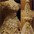 On sale customer-made Vintage Costumes Victorian Dress 1860s Civil War Southern Belle Gown Marie Antoinette dresses US4-36 C-349