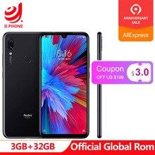 Resmi Küresel Rom Xiaomi Redmi Not 7 3 GB Ram 32 GB Rom 19.5: 9 S660 AIE Octa Çekirdek 6.3