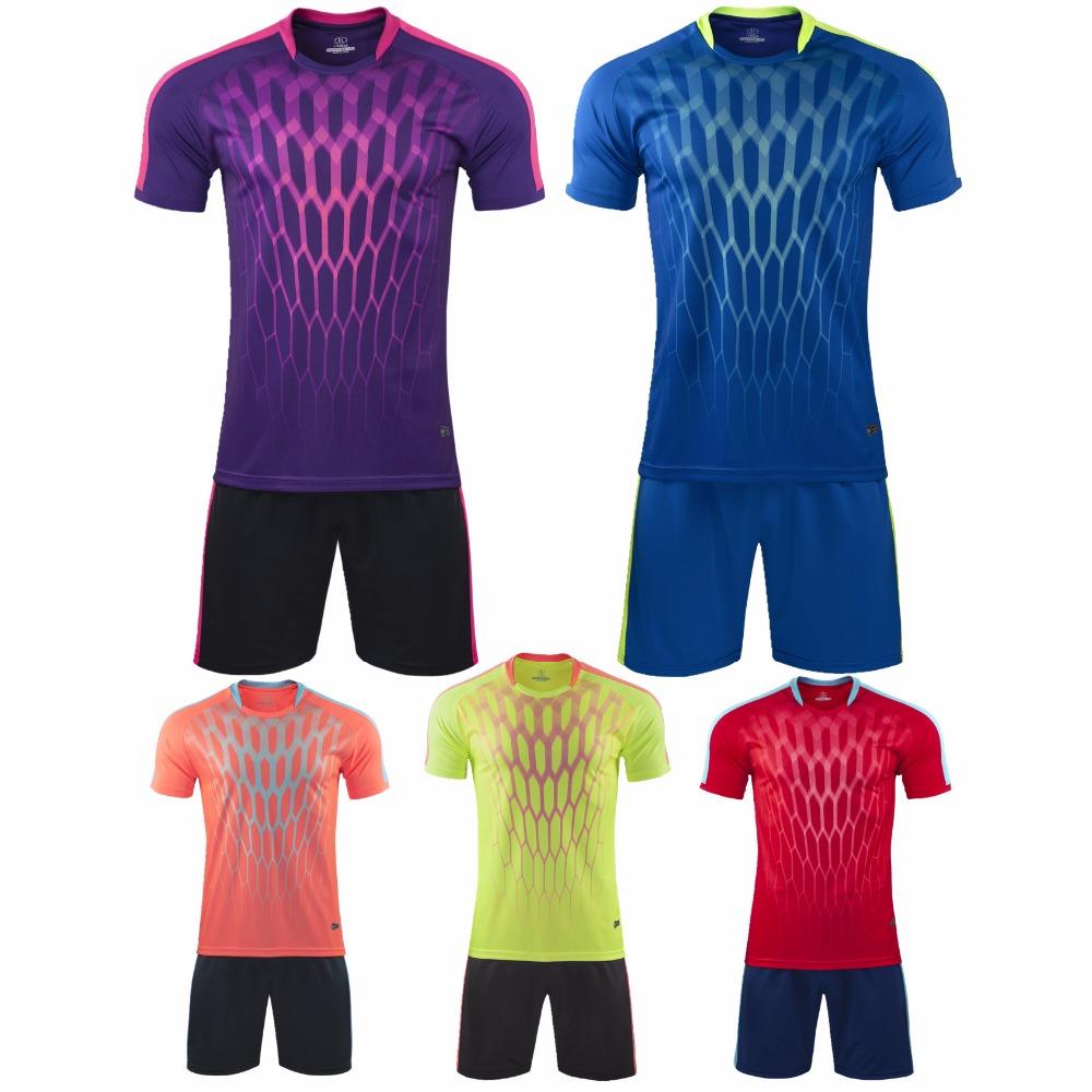 dae9c82f0edc7 Mens soccer jersey sets 2019 sport kit suit maillot de foot custom printing