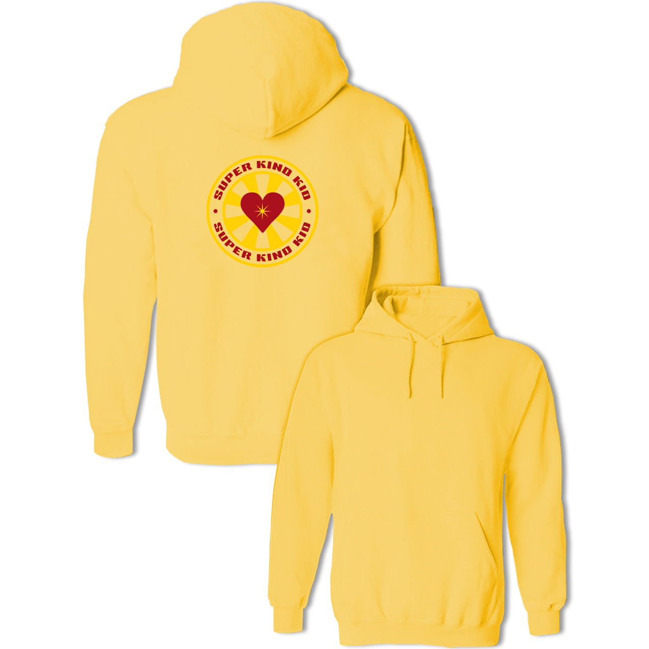Super Kind Kid Funny Heart Print Fashion Sweatshirt Women Men Cotton Casual Pullovers Multi Color Hoodie For Girl Boy Brand Tops