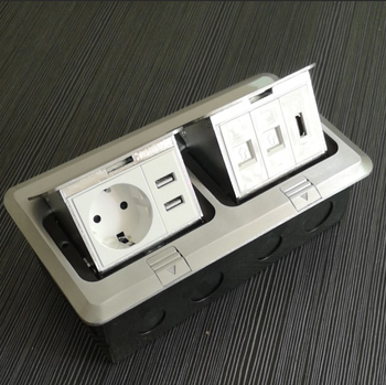 Electrical Outlet Floor Socket Hgd 3f