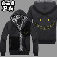 גבוהה ש לשני המינים התנקשות בחייו בכיתה Shiota Nagisa קפוצ 'ונים מעיל מעיל מעיל מעיל קפוצ' ונים סוודר Korosensei