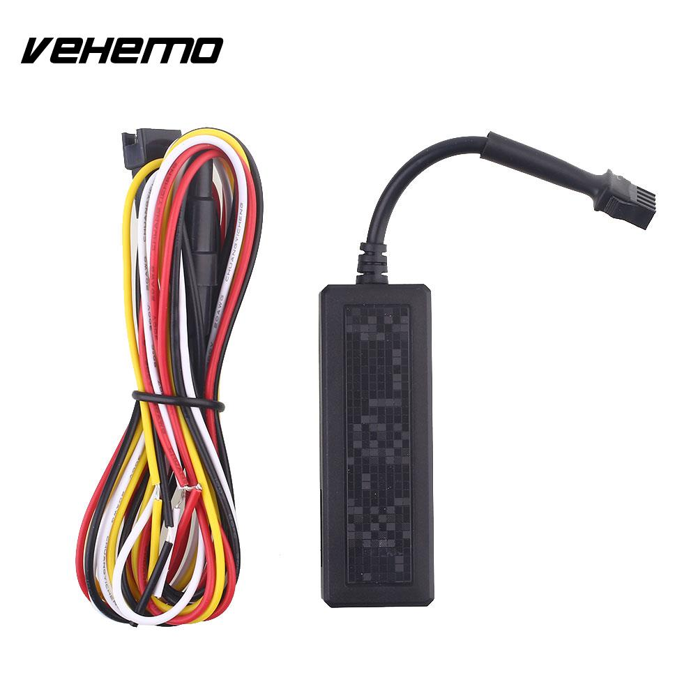 Vehemo ACC Detection GSM/GPRS/GPS Tracker Location Tracking Car GPS Tracker Portable GPS Locator SOS Mini Real Time Tracking