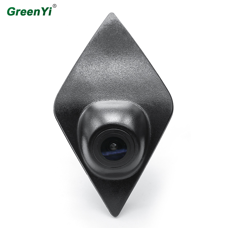 GreenYi CCD HD Night Vision Front View Renault Forward Logo Camera Can Be Used For Renault Captur Koleos Modus Clio Front Camera