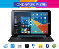 "8.9 ""ips onda v891w ch arranque dual windows 10 + android 5.1 Dual OS Tablet PC Intel X5-Z8300 Quad Core 2 GB/32 GB de Doble Cámara"