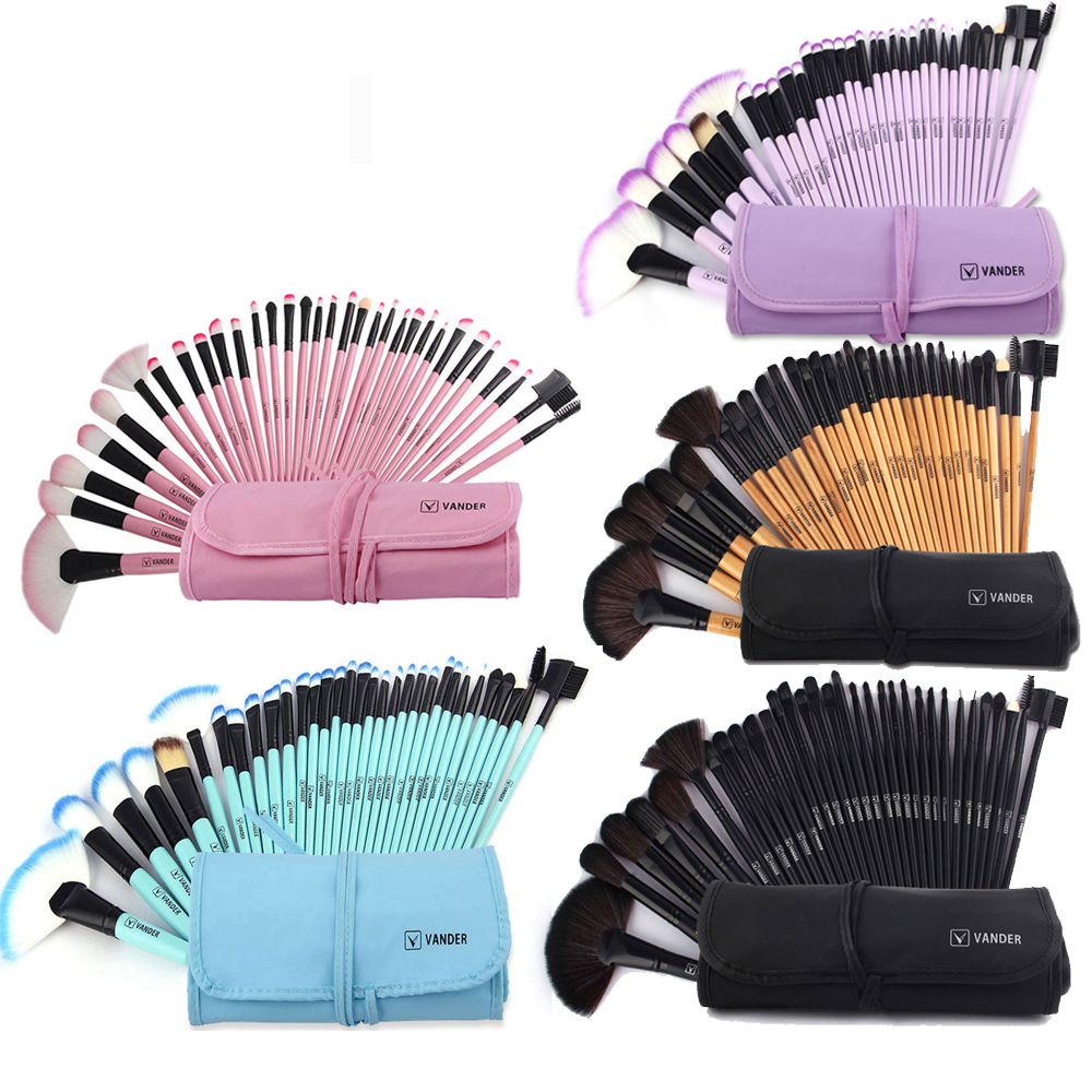Professional Beauty 5 6 11 22 24 32 Pcs Make Up Tools Pincel Maquiagem Superior Soft Cosmetic Makeup Brush Set Kit + Bag