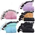 Набор мягких косметических кистей для макияжа, профессиональные инструменты для красоты 5 6 11 22 24 32 шт., в комплекте с сумкой