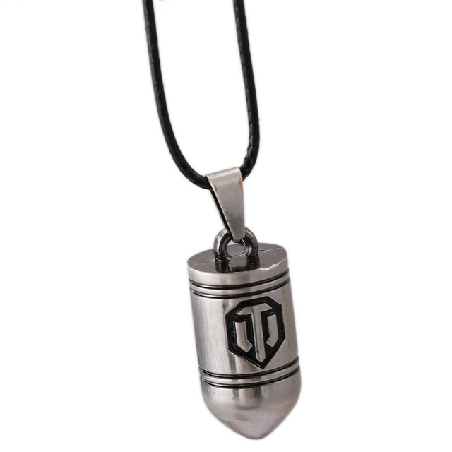 World of Tanks Necklace Hot Game Key Pendant Men Women Gift Jewelry Accessories