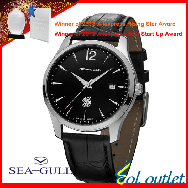 Limited! The first engraved Seagull watch automatic mechanical for men D51X