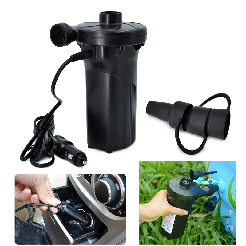 Rechargeable 12v auto car Air pump nickel cadmium Battery cainflatable air Pump Inflate Reflate for Outdoor