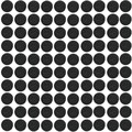 25mm Round Plastic bases for gaming miniatures and table games 100pcs